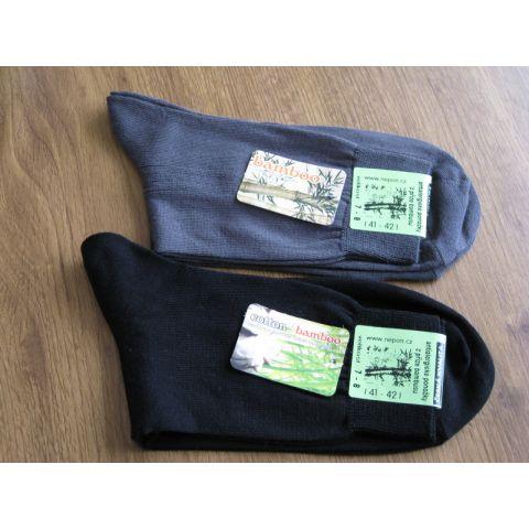 Ponožky z bambusového vlákna hladké   Ponožky a podkolenky    b ... 3215bf95fa